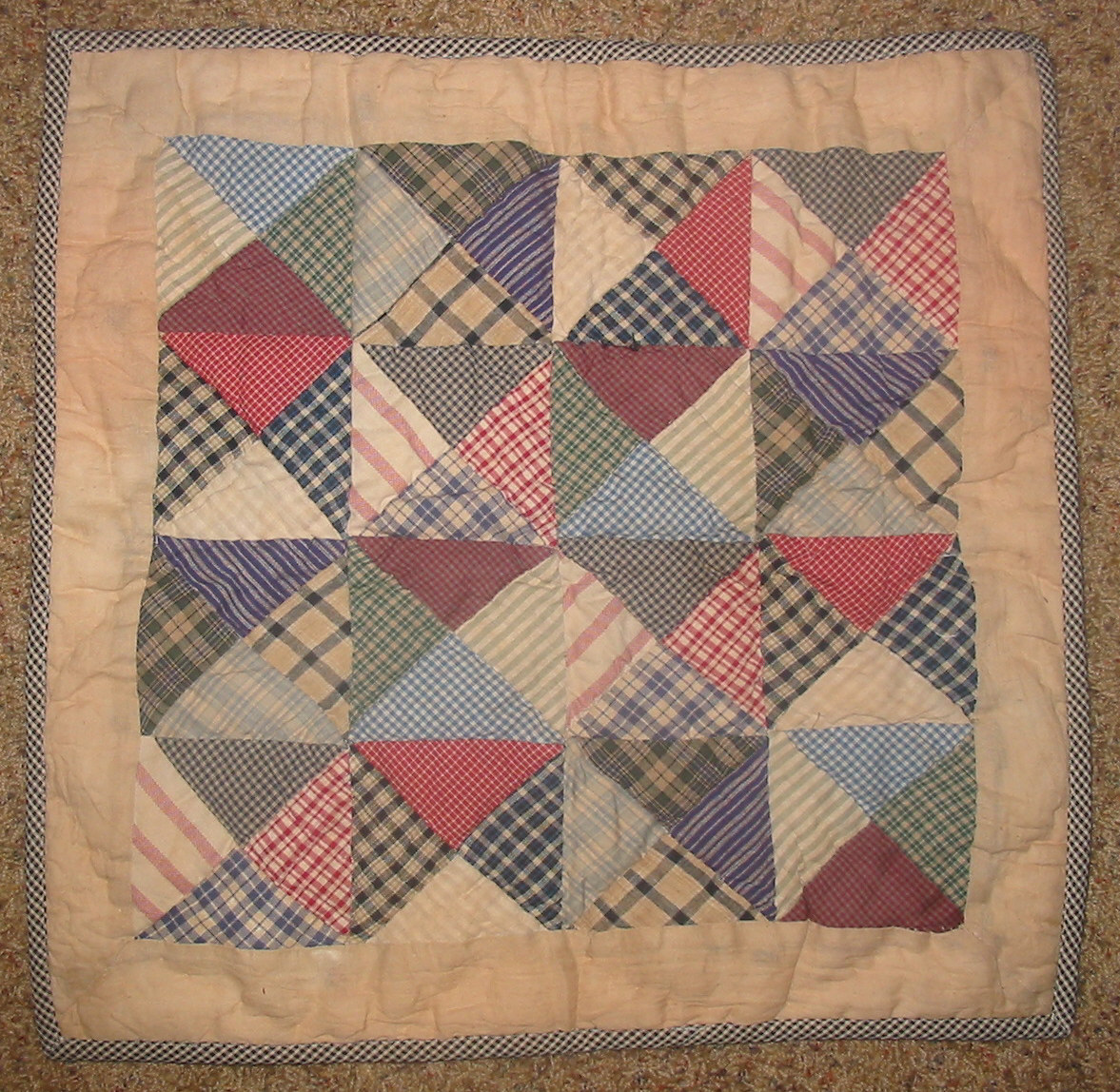 Country Primitive Wall Quilt Blocks Stars from